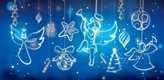 Ornaments Blue